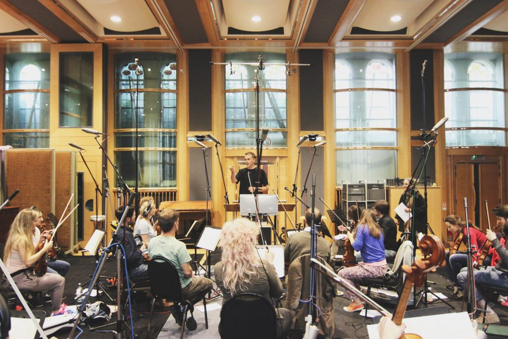 Recording Seven Days at Air Studios London