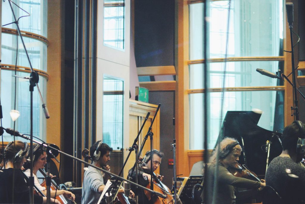 Recording Seven Days at Air Studios London